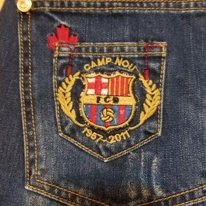Dsquared Rare Barcelona Camp Nou Jeans 33 x 32